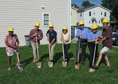 2015 West Chester groundbreaking