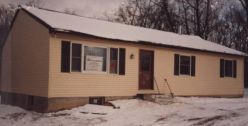 Our first Habitat house in Chester County