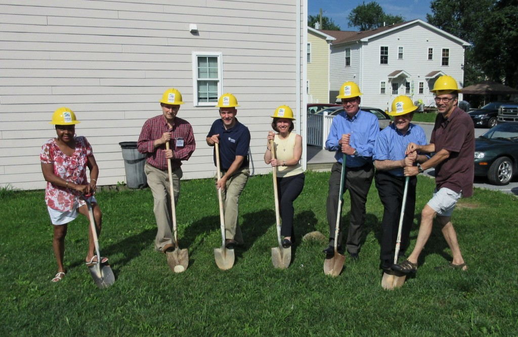 Breaking ground at the last lot in West Chester